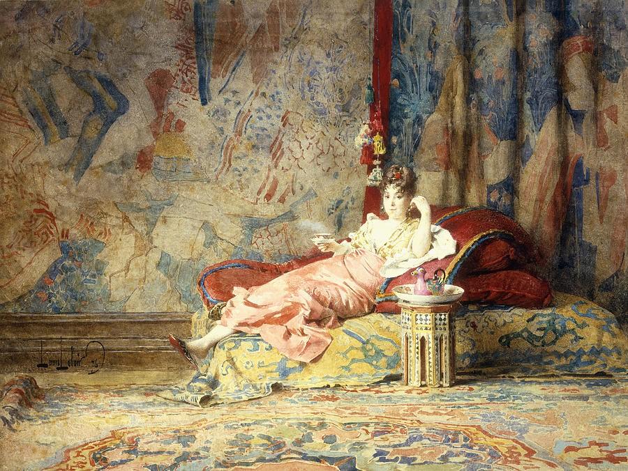 Harem Beauty, Alexander Louis Leloir - Date unknown